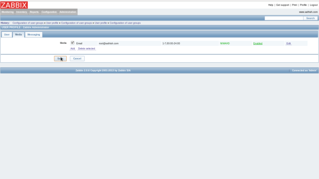 Configuring Zabbix (Monitoring tool)   LINUX DIGEST