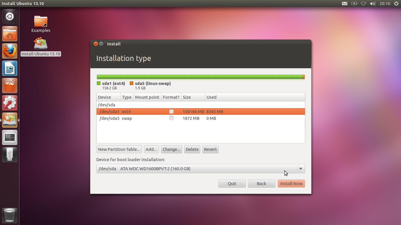 how to install ubuntu from iso in usb drive