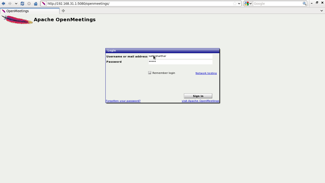 Installing and Securing Apache OpenMeeting in Centos 6