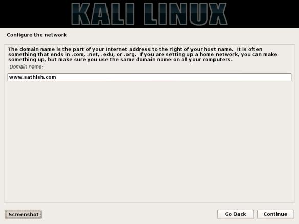 Installation of Kali Linux 1 0 6 | LINUX DIGEST
