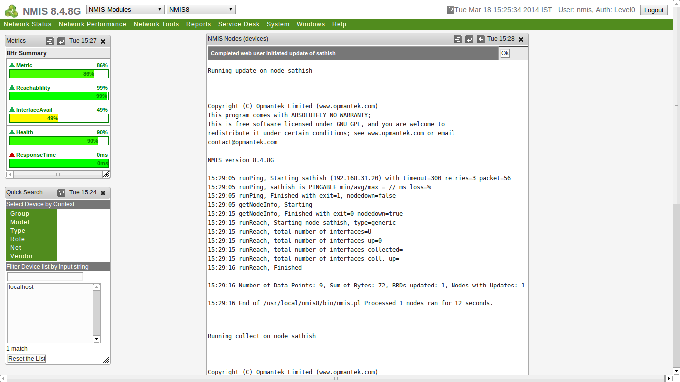 Configuring NMIS (Network Management Information System) - LINUX DIGEST
