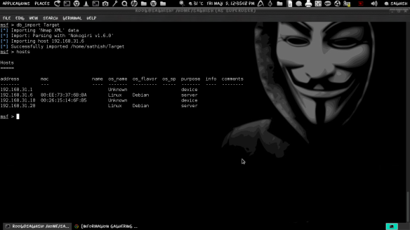 Information Gathering before Hacking with MetaSploit   LINUX