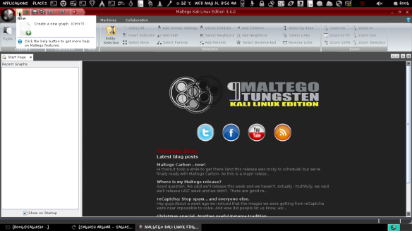 Easy Information Gathering with Maltego in Kali Linux