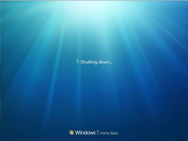 Shutdown-windows7