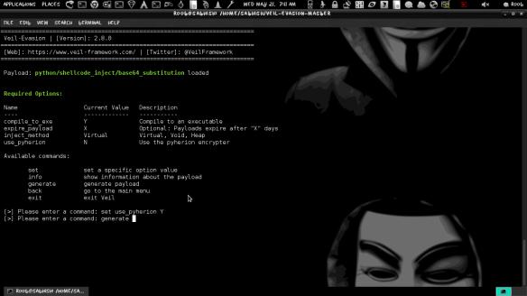 Evading Antivirus using Veil-Framework in Kali Linux | LINUX