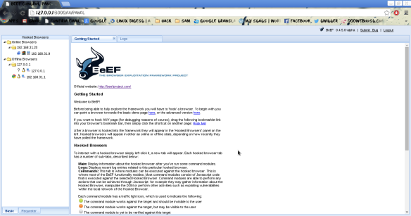 Integrating Metasploit with Browser Exploitation Framework | LINUX