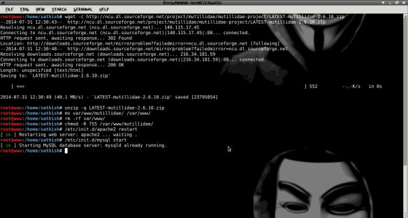 Create Your Own Web Penetration testing Lab in Kali Linux | LINUX DIGEST