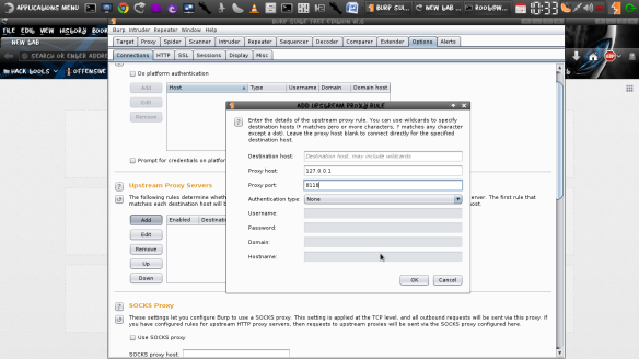 Proxying BurpSuite through TOR for Anonymity  | LINUX DIGEST