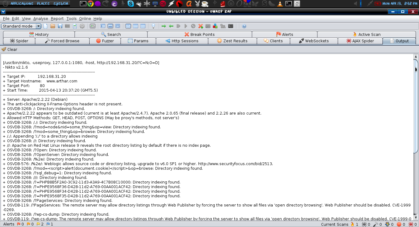 Owasp Zap Linux Digest